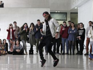 Un maestro del 'break dance'