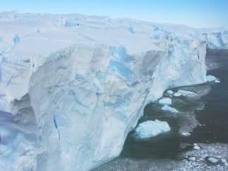 Glaciar Astrolabe