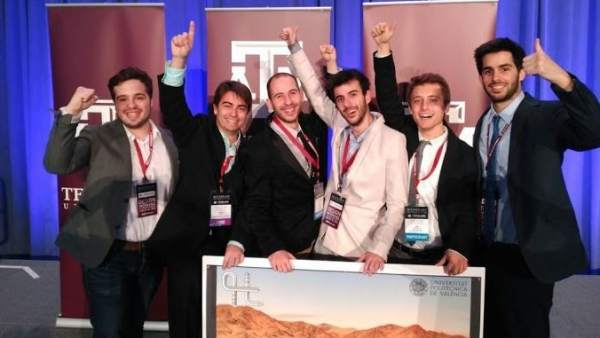Cinco valencianos ganan el concurso Hyperloop