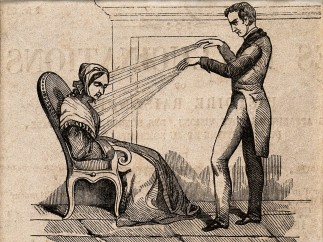 A Practitioner using Mesmerism