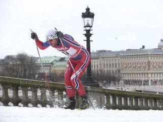 Esquiando por la ciudad