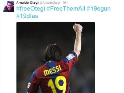 Twitter de Arnaldo Otegi