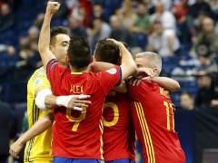 España supera a Kazajistán y jugará la final del Europeo de fútbol sala