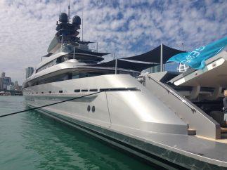 El lujo atraca en Miami