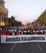 Manifestación Madrid Airbus