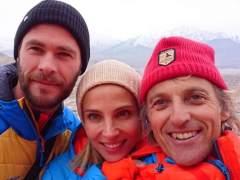 Elsa Pataky ya está con Jesús Calleja en el Himalaya
