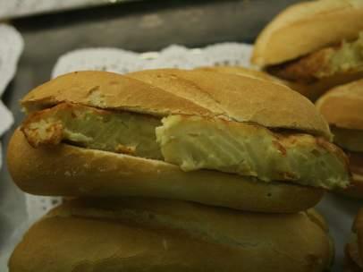 Bocadillo de tortilla