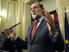 """Rajoy: """"No descarto presentarme a la investidura"""""""