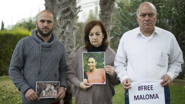 La familia española de Maloma