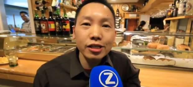 El ciudadano chino que regenta un bar franquista en Madrid denuncia una agresión contra él por ...
