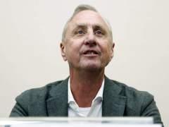 Cruyff anuncia que mejora de su cáncer en su primer comunicado