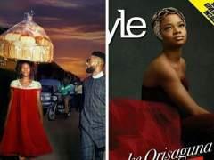 Una vendedora ambulante nigeriana se convierte en modelo