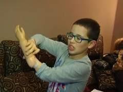 Unai estrena brazo biónico