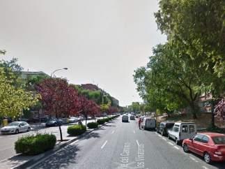 Calle camino de Vinateros, Madrid