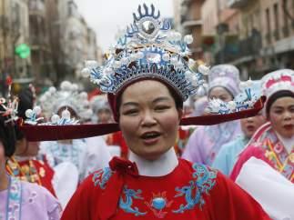 Año chino en Usera