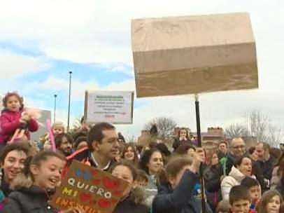 Manifestación en Las Tablas