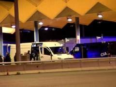 Interceptan un coche con armas en la frontera con Francia