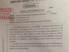 """La Guardia Civil alerta de un """"atentado inminente"""" en España """"tipo al de París"""""""