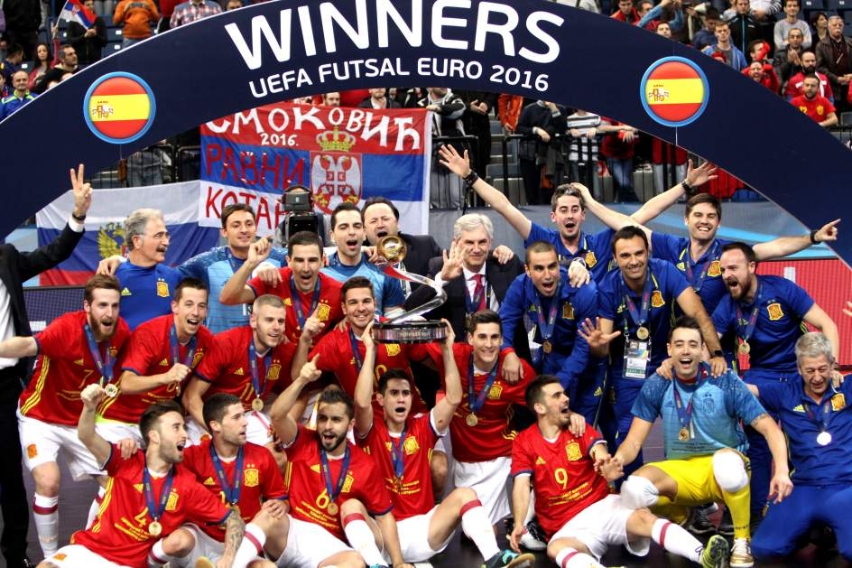 España consigue su séptimo título continental