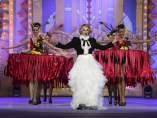 La actriz Antonia San Juan  en la gala de elección de la Reina del Carnaval 2016