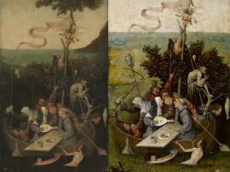 Hieronymus Bosch - The Ship of Fools, c. 1500–10