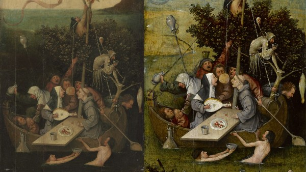 Hieronymus Bosch - The Ship of Fools, c. 1500–10