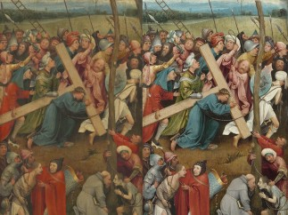 Hieronymus Bosch - Christ Carrying the Cross, c. 1490–1510