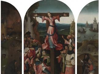 Hieronymus Bosch - Saint Wilgefortis Triptych, c. 1495–1505