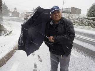 Nieve en O Cádavo
