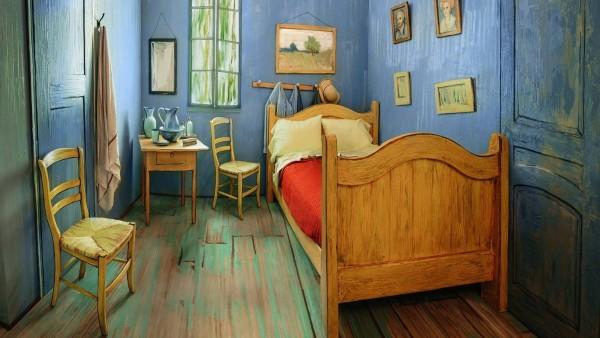 La habitación de Van Gogh, a diez dólares la noche en AirBnB