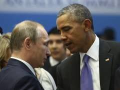 Obama urge a Putin a cesar los bombardeos contra la oposición moderada en Siria