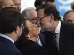 Cargos del PP esperan que Rita Baberá tome nota de Aguirre