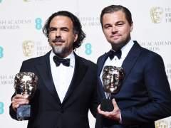 Leonardo DiCaprio y 'El Renacido' triunfan en los Bafta