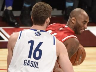 Gasol y Bryant