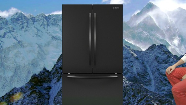Mark Leckey, GreenScreenRefrigeratorAction, 2010