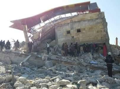 Ataque a un hospital en Siria