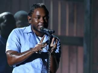 Kendrick Lamar en los Grammy