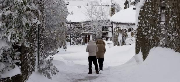 Meteorología predice nevadas en cotas muy bajas de la Península