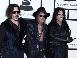 Depp, Perry y Cooper