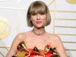 Taylor Swift, triunfadora en los Grammy