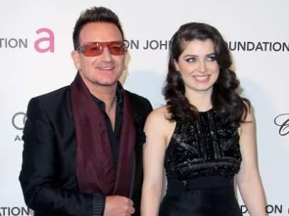 Bono y su hija