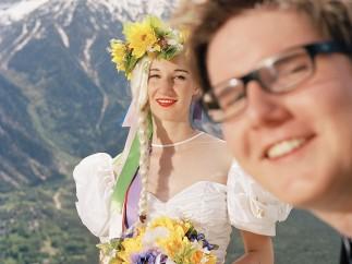Romain Mader, born 1988 - Ekaterina: Mariage à Loèche-les-Bains (Marriage in Leukerbad), 2012