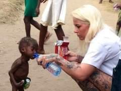 Salvan a un bebé de dos años acusado de brujería
