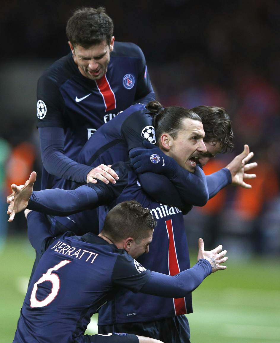 Ibrahimovic y Cavani dan ventaja al PSG ante el Chelsea - 20minutos.es