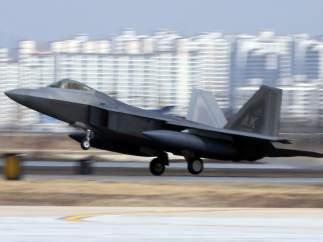 EE UU despliega cazas en Corea del Sur