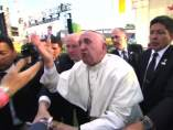 El papa Francisco, a punto de caer