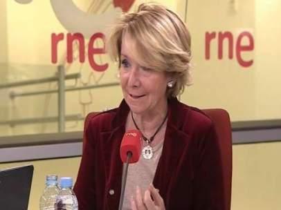 Esperanza Aguirre en RNE