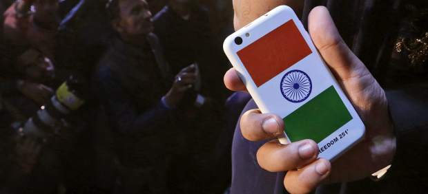 India smartphone móvil.