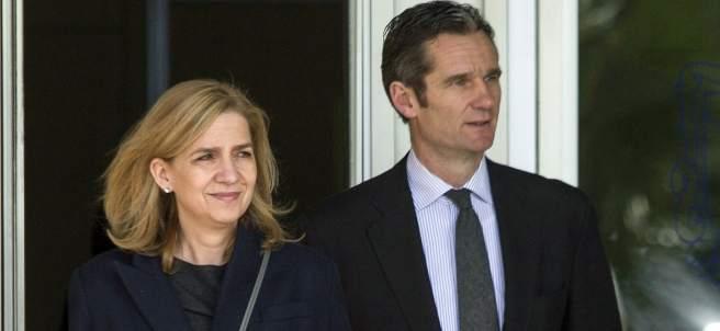 Cristina de Borbón e Iñaki Urdangarin
