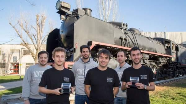 Los ganadores del concurso Hyperloop